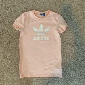NWOT Adidas Light Pink Short Dress XS
